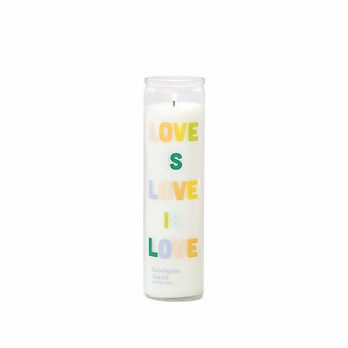 Love is Love is Love Prayer Candle