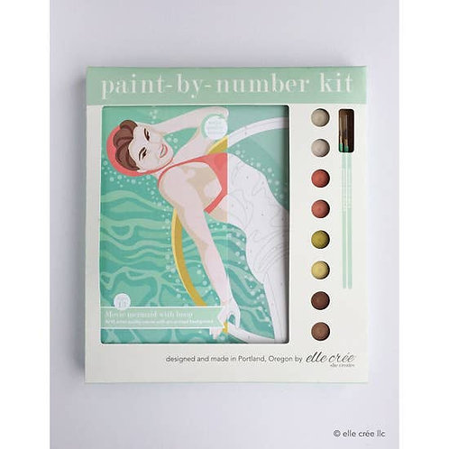 Movie Mermaid Paint By Number Kit