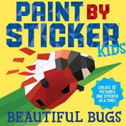 Beautiful Bugs Paint by Sticker Kids