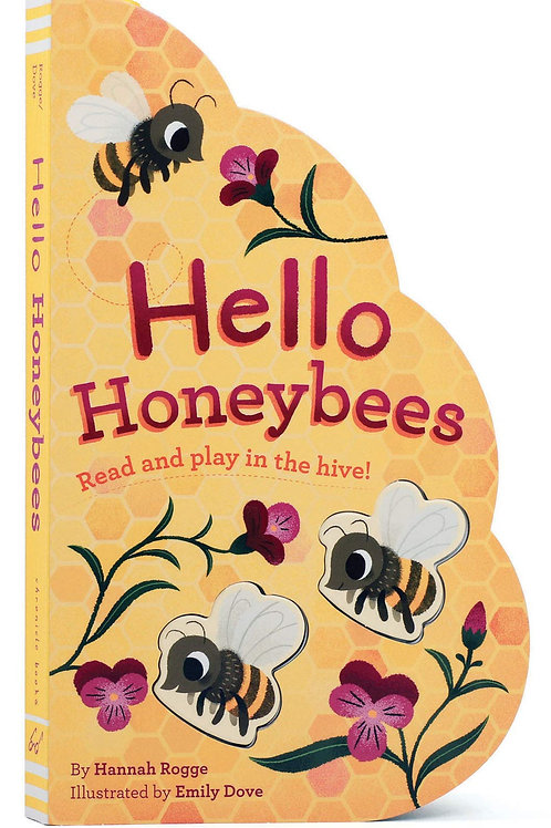 Hello Honeybees Read and Play Board Book