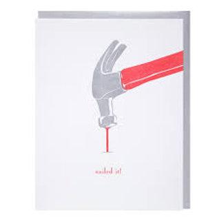 Nailed It! Greeting Card