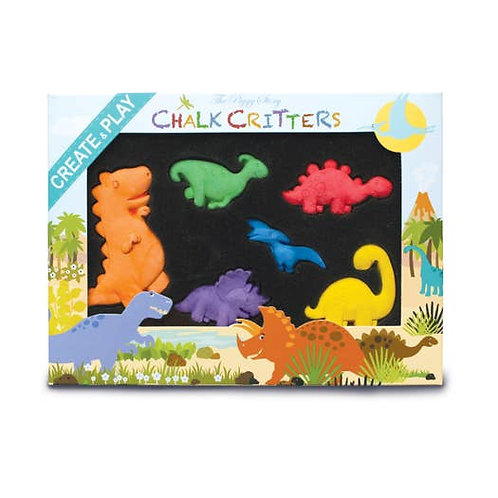 Chalks of Critters Dinosaurs