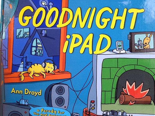 Goodnight iPad Hardcover book