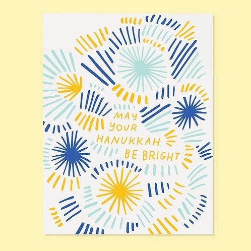 May Your Hanukkah Be Bright Greeting Card