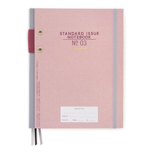 Standard Issue NO.3 Notebook Assorted Colors