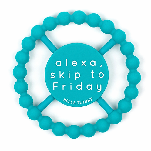 Alexa, Skip to Friday Teether