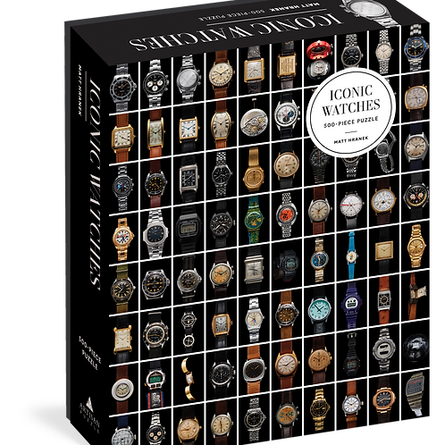 Iconic Watches 500 Piece Puzzle