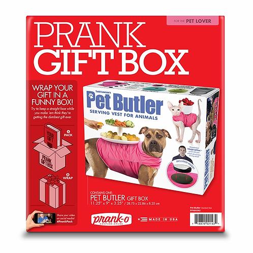 Pet Butler Prank Box