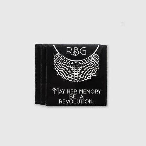 RBG Memory Be A Revolution Magnet