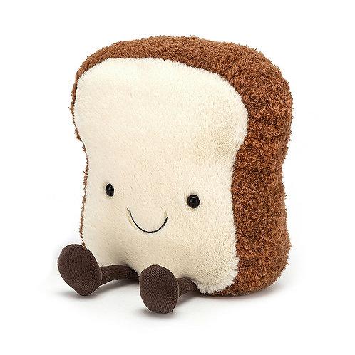 Amuseable Toast Stuffed Animal