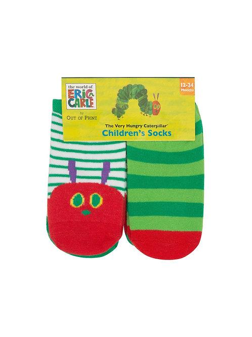 Very Hungry Caterpillar 4-Pack Socks