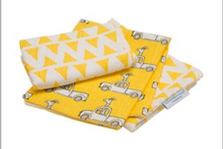 Adventure Giraffe Lil' Bitty Burp Cloth Set