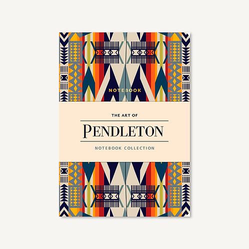 The Art of Pendleton Notebook Collection of 3