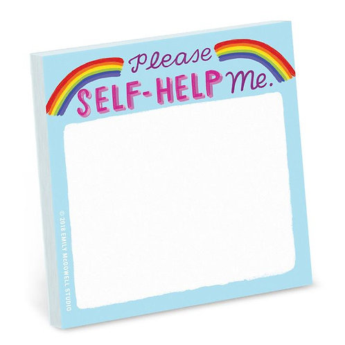 Please Self-Help Me Post Its