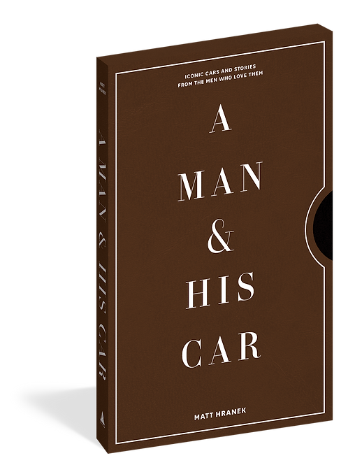 A Man & His Car Hardcover Photography Book