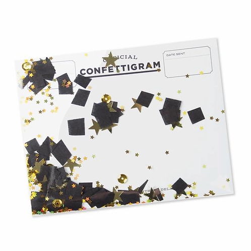 Graduation Confettigram