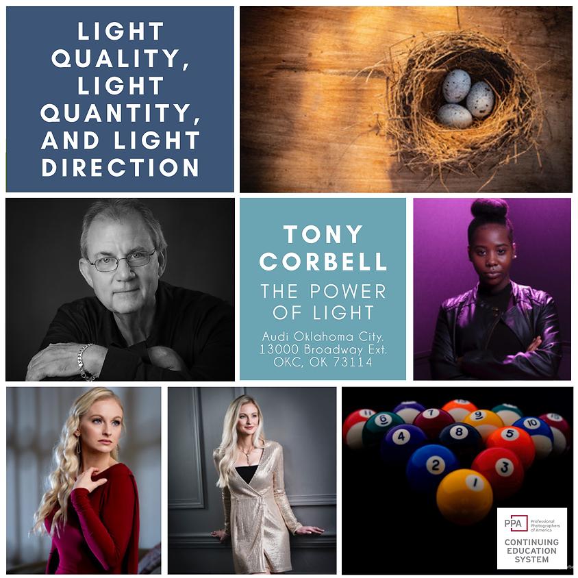 Tony Corbell - The Power of Light