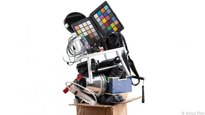 TAME YOUR STUDIO EQUIPMENT CLUTTER