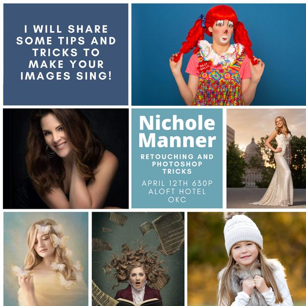 Nichole Manner, M. Photog. - Retouching and Photoshop Tricks