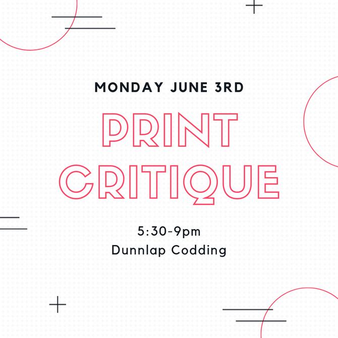 Print Critique