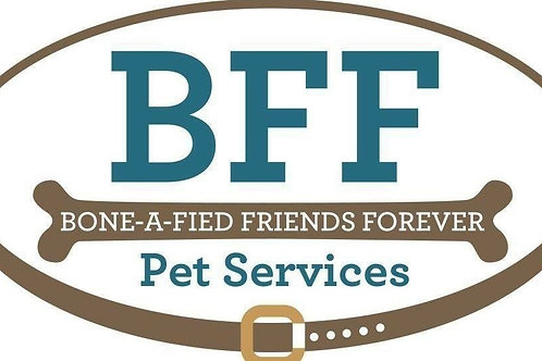 $100 Gift Card - BFF Pet Services