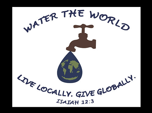 Water the World Decal