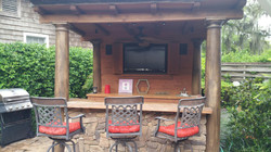 Outdoor Entertainment Station