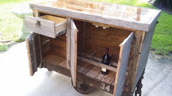 Custom Bar Cart