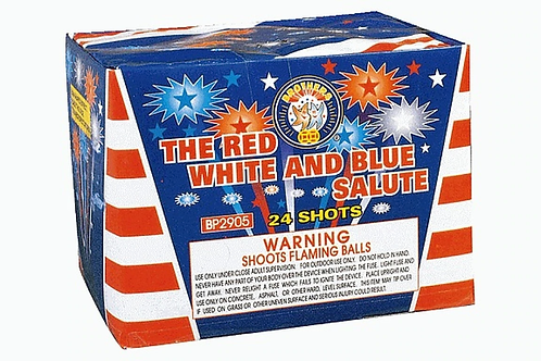 THE RED WHITE & BLUE SALUTE