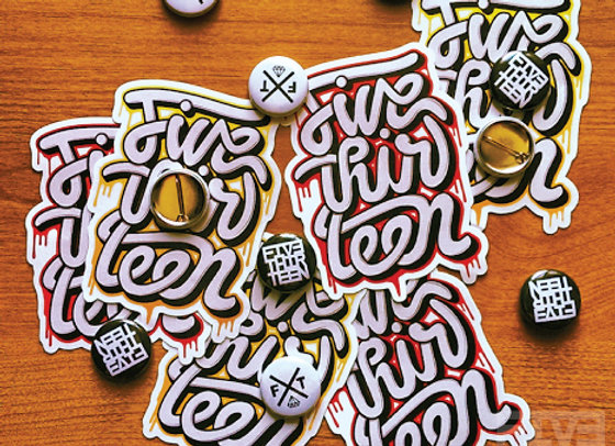 Sticker/Button Pin Pack