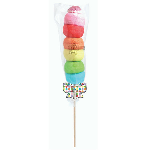 LOLLIPOP - Marshmallow spiedino colorato