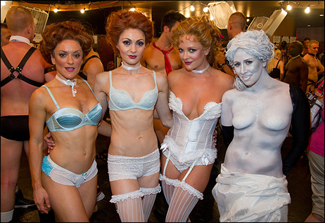 Playbill.com photo of Broadway Bares
