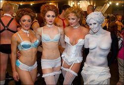 Playbill.com photo of Broadway Bares