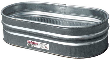 38 Gallon Galvanized Tub