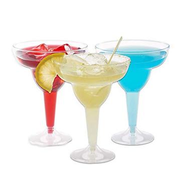 Plastic Margarita Glasses 11.5oz 50ct.