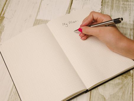 Prepare: Make a Plan & Work your Plan