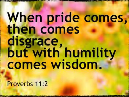 Humility Versus Pride