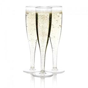 Plastic Champagne Flutes 5oz