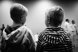 preschool boys together