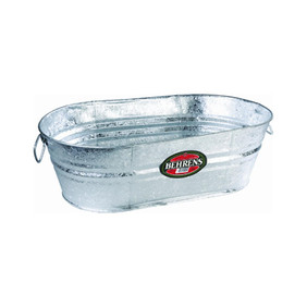 16 Gallon Galvanized Tub