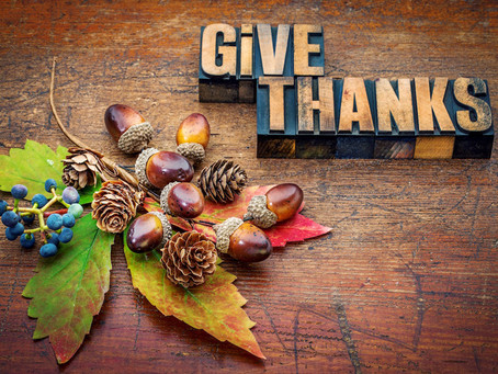 Thanksgiving and Generosity go together.
