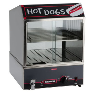 """Hot Dog Steamer - Holds 100 6"""""""