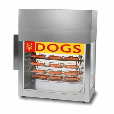 Dogeroo Hot Dog Rotisserie - Holds 56