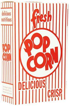 1.25 oz Pop Corn Boxes Case 100ct.