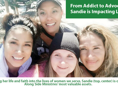 From Addict to Advocate, Sandie is Impacting Lives