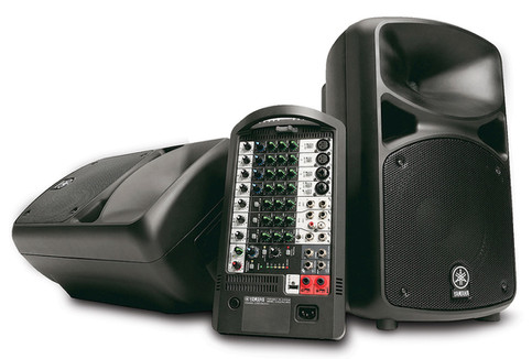 Yamaha 640 Watt PA System