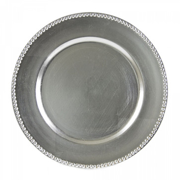 """13"""" Silver Plate Charger"""