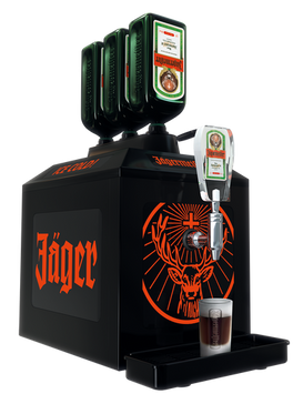 Jagermeister Chilled Shot Machine