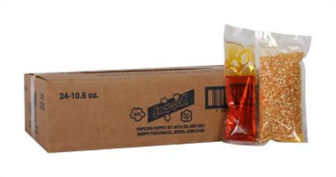 Pop Corn Snap Paks 24 10.5oz Packs