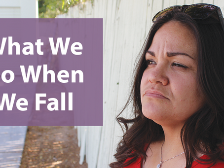 What We Do When We Fall
